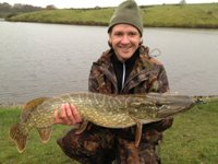 Andy's first pike