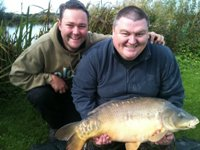 27lb carp on a carp tutorial day!