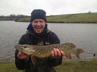 Mark's first pike!
