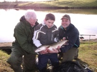 Dad and lad pike days